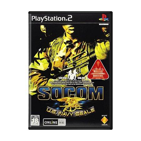 Jogo SOCOM: U.S. Navy SEALs - PS2 (Japonês)