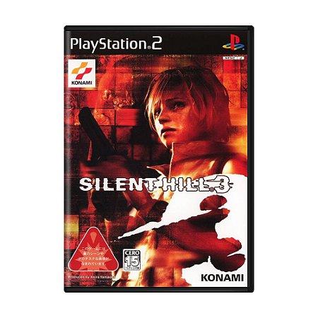 Jogo Silent Hill 3 - PS2 (Japonês)