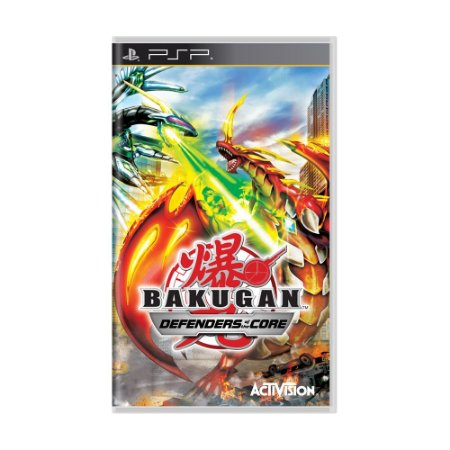 Jogo Bakugan: Defenders of The Core - PSP