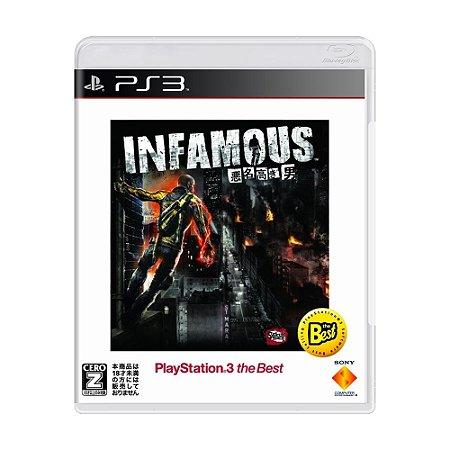 Jogo inFAMOUS - PS3