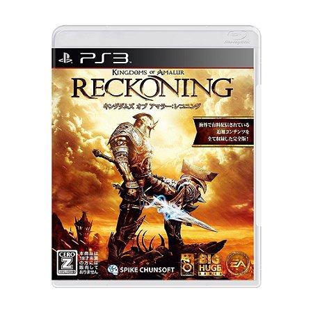 Jogo Kingdoms of Amalur: Reckoning - PS3 (Japonês)