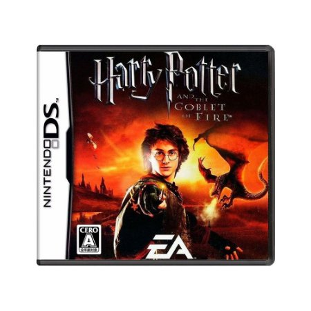 Jogo Harry Potter and the Goblet of Fire - DS (Japonês)