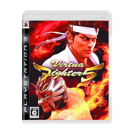 Jogo Virtua Fighter 5 - PS3 (Japonês)