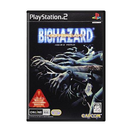 Jogo Resident Evil: Outbreak - PS2 (Japonês)