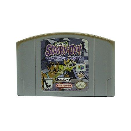 Jogo Scooby-Doo! Classic Creep Capers - N64
