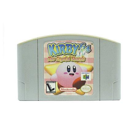 Jogo Kirby 64: The Crystal Shards - N64