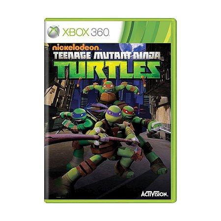 Jogo Teenage Mutant Ninja Turtles - Xbox 360