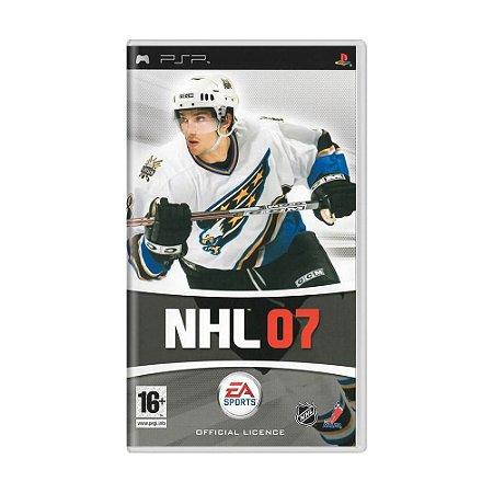 Jogo NHL 07 - PSP
