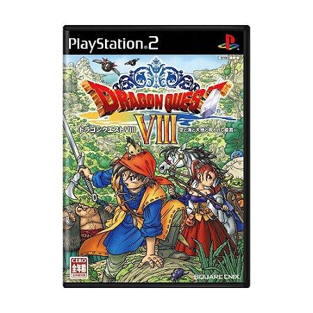 Jogo Dragon Quest VIII: Journey of the Cursed King - PS2 (Japonês)