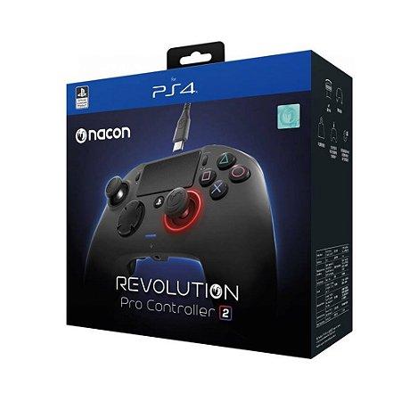 Controle Nacon Revolution: Pro Controller 2 - PS4