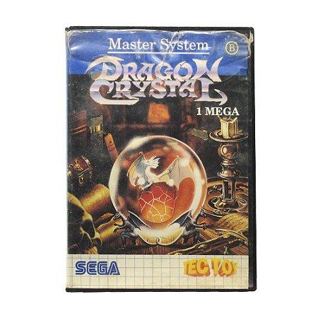 Jogo Dragon Crystal - Master System