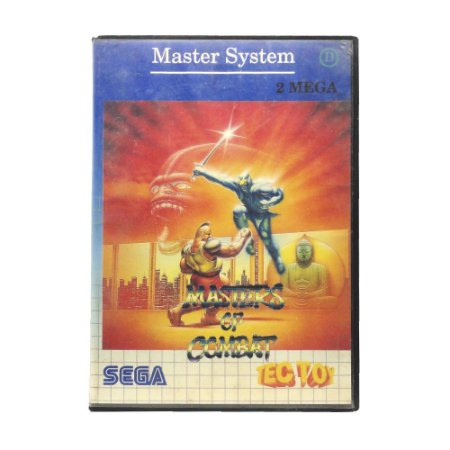 Jogo Masters of Combat - Master System