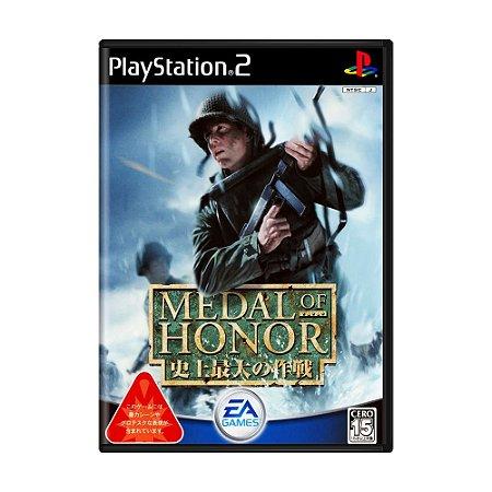 Jogo Medal of Honor: Frontline - PS2 (Japonês)