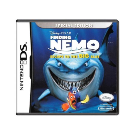 Jogo Finding Nemo: Escape to the Big Blue - DS