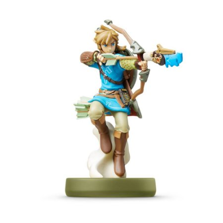 Nintendo Amiibo: Link Archer - Zelda Breath of the Wild - Wii U e New Nintendo 3DS