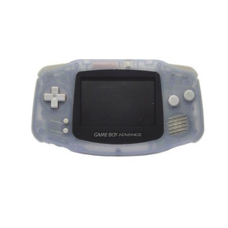 Console Game Boy Advance Azul Transparente (Mancha na Tela) - Nintendo