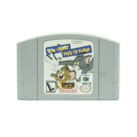 Jogo Tom and Jerry in Fists of Furry - N64