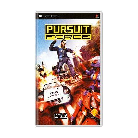Jogo Pursuit Force - PSP