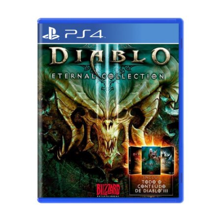Jogo Diablo III: Eternal Collection - PS4