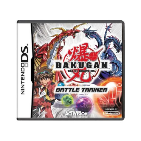 Jogo Bakugan Battle Brawlers: Battle Trainer - DS