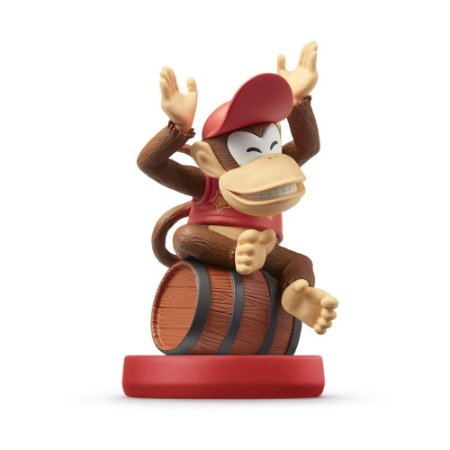 Nintendo Amiibo: Diddy Kong - Super Mario - Wii U, New Nintendo 3DS e Switch