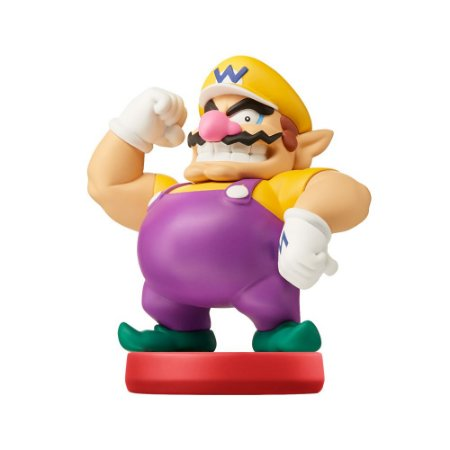 Nintendo Amiibo: Wario - Super Mario - Wii U, New Nintendo 3DS e Switch