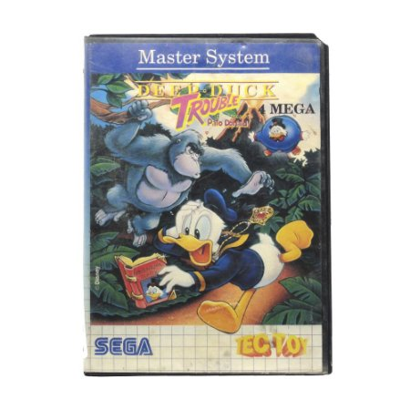 Jogo Deep Duck Trouble: Pato Donald - Master System