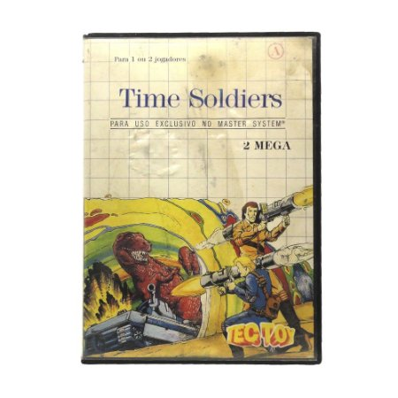 Jogo Time Soldiers - Master System