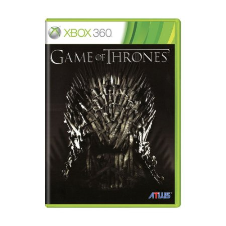 Jogo Game of Thrones - Xbox 360