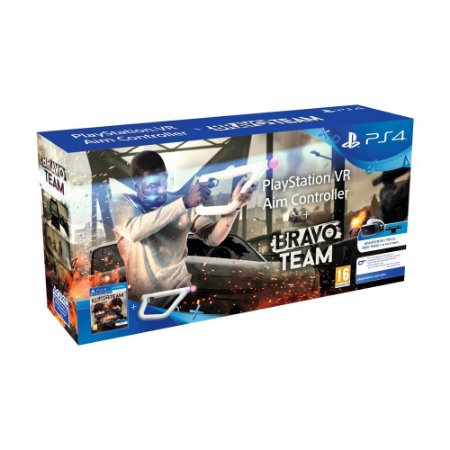 Jogo Bravo Team + Aim Controller (Bundle) - PS4