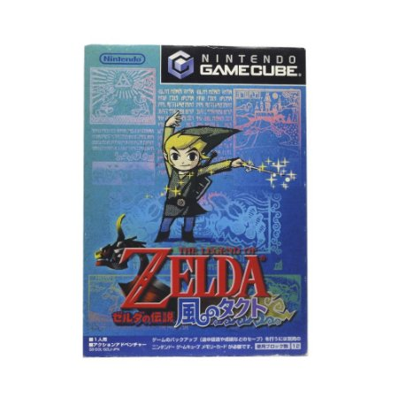 Jogo The Legend of Zelda: The Wind Waker - GameCube (Japonês)