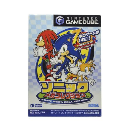 Jogo Sonic Mega Collection - GameCube (Japonês)