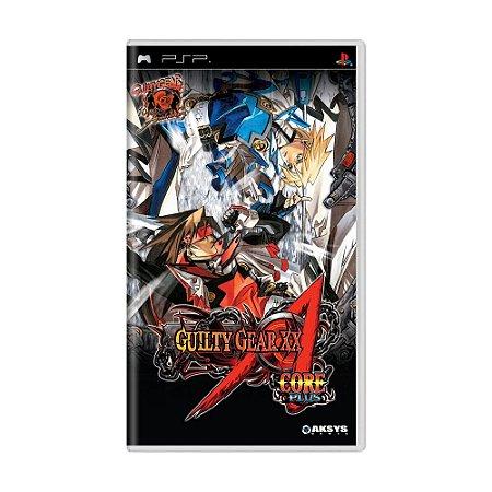 Jogo Guilty Gear XX Accent Core Plus - PSP