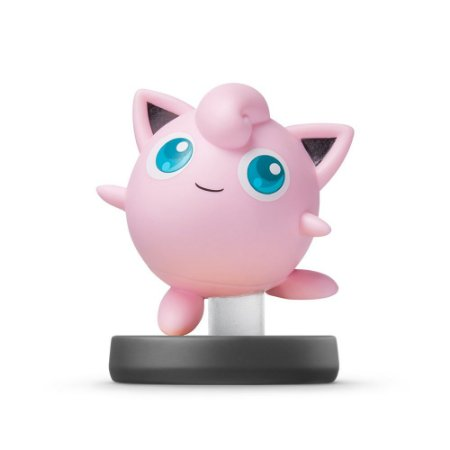Nintendo Amiibo: Jigglypuff - Super Smash Bros - Wii U, New Nintendo 3DS e Switch