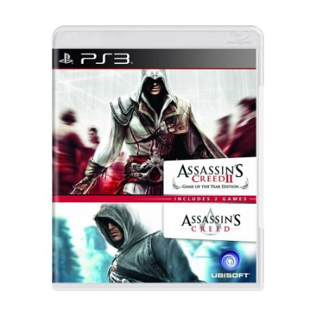 Jogo Assassin's Creed (Double Pack) - PS3