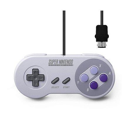 Controle Super Nintendo - SNES Classic Edition