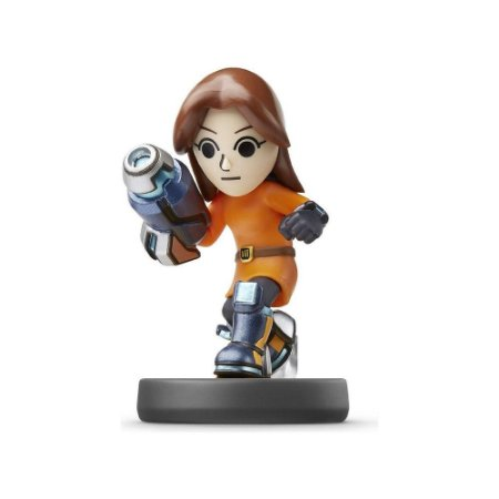 Nintendo Amiibo: Mii Gunner - Super Smash Bros - Wii U, New Nintendo 3DS e Switch