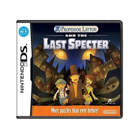 Jogo Professor Layton and the Last Specter - DS