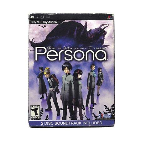 Jogo Shin Megami Tensei: Persona (Collector's Edition) - PSP