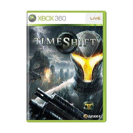 Jogo TimeShift - Xbox 360