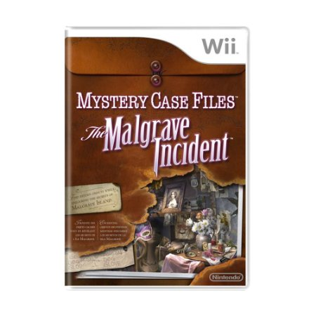 Jogo Mystery Case Files: The Malgrave Incident - Wii