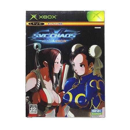 Jogo SVC Chaos: SNK vs. Capcom - Xbox (Japonês)