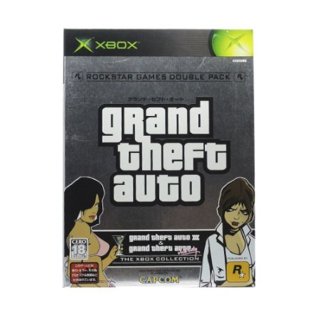 Jogo Grand Theft Auto III & Vice City (Double Pack) - Xbox (Japonês)