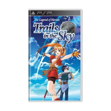 Jogo The Legend of Heroes: Trails in the Sky - PSP