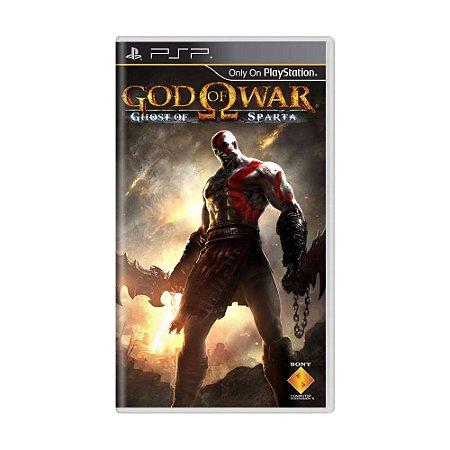 Jogo God of War: Ghost of Sparta - PSP