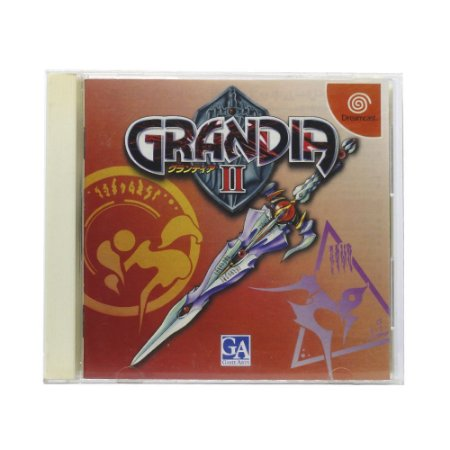 Jogo Grandia II - DreamCast (Japonês)