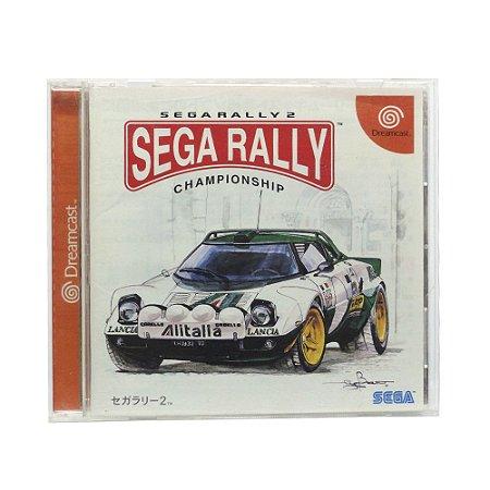 Jogo Sega Rally 2 Championship - DreamCast (Japonês)