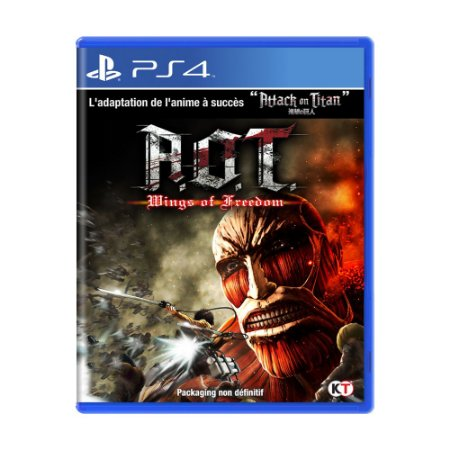 Jogo Attack On Titan: Wings of Freedom - PS4