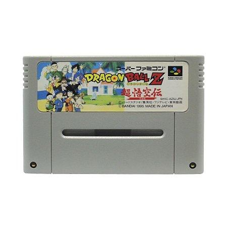 Jogo Dragon Ball Z: Super Gokūden - Totsugeki-hen - SNES (Japonês)