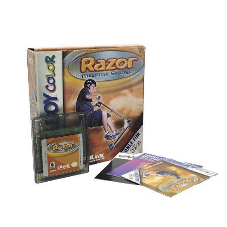 Jogo Razor Freestyle Scooter - GBC